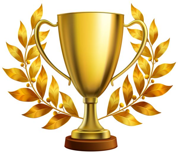 600x522 Winner Trophy Cup Icon. Sport Competition Silhouette Symbol
