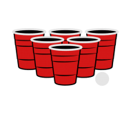 190x166 Beer Pong Cup Name Labels Bottleyourbrand Products