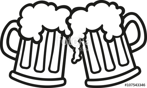 500x301 Beer Mugs Cartoon Cheers Stock Image And Royalty Free Vector
