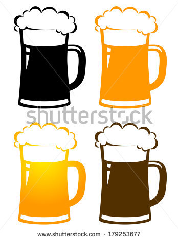 348x470 Beer Mug Silhouette Clipart Collection