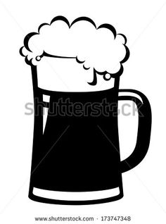 Beer Stein Silhouette