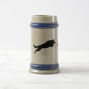 307x307 German Shepherd Beer Steins Zazzle