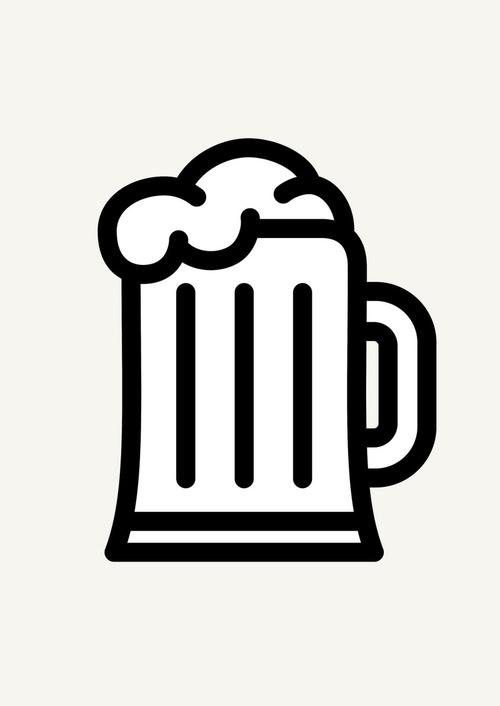 500x706 Icon Prints Drinks Serie By Brigada Creativa, Via Behance Deco