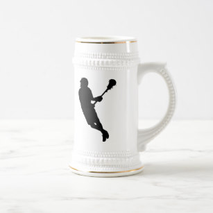307x307 Lacrosse Player In Silhouette Home Decor Amp Pets Products Zazzle