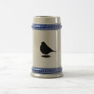 307x307 Love Bird Watching Beer Steins Zazzle