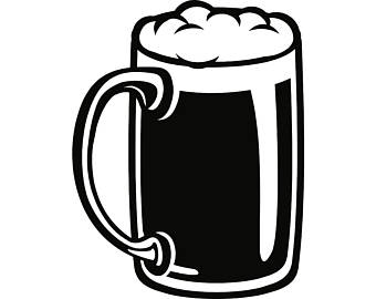 340x270 Beer Mug Svg Etsy