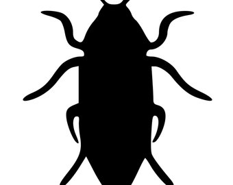 340x270 Cockroach Silhouette Etsy