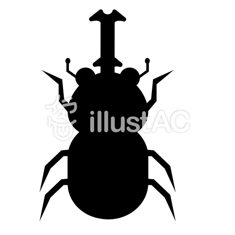 750x750 Free Cliparts Silhouette, Beetle, Mus