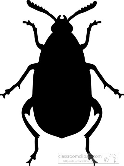 412x550 Silhouettes Clipart Insect Beetle Silhouette Clipart 4