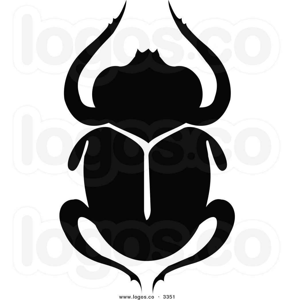 1024x1044 Beetle Clipart Black White Royalty Free Vector Of A Black