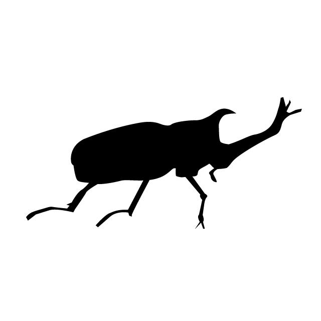 640x640 Beetle Animal Silhouette Free Illustrations