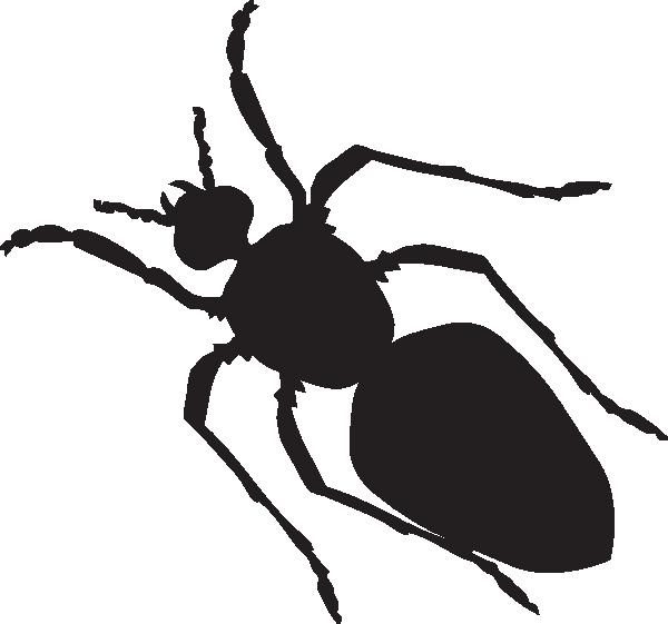 600x561 Black Ant Silhouette Clip Art