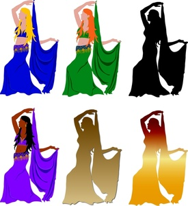 275x300 Free Belly Dancer Clipart Image 0515 1007 2619 2303 Computer Clipart