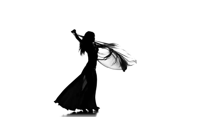 Belly Dance Silhouette At Getdrawings Free For Personal Use