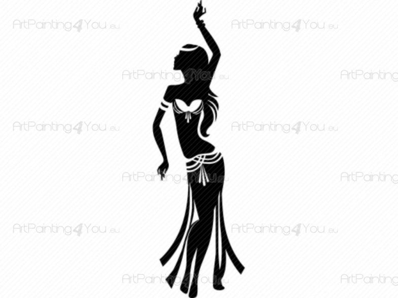 800x600 Belly Dance Clip Art