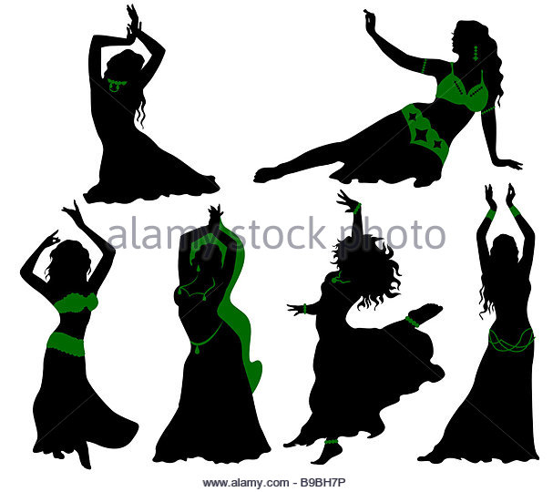 607x540 Female Belly Dancer Silhouette Stock Photos Amp Female Belly Dancer
