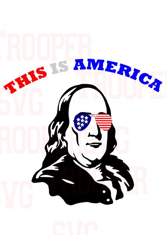 570x806 Benjamin Franklin Svg, Merica,glasses ,patriotic Svg, American