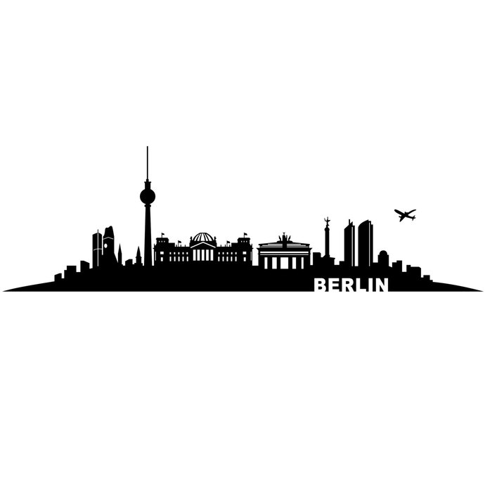 690x690 Berlin City Germany Graphics Design Svg Dxf By Vectordesign On Zibbet