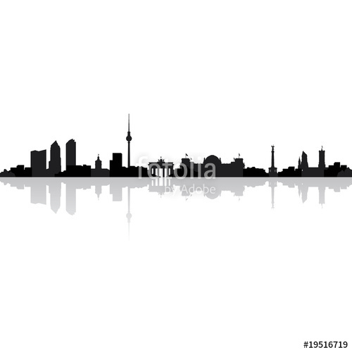 500x500 Berlin Skyline Stock Image And Royalty Free Vector Files