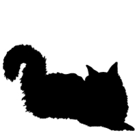 200x200 Customize Pet Lover Products With A Cat Silhouette