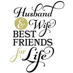 300x300 Husband Amp Wife Best Friends Husband Wife, Silhouette Design