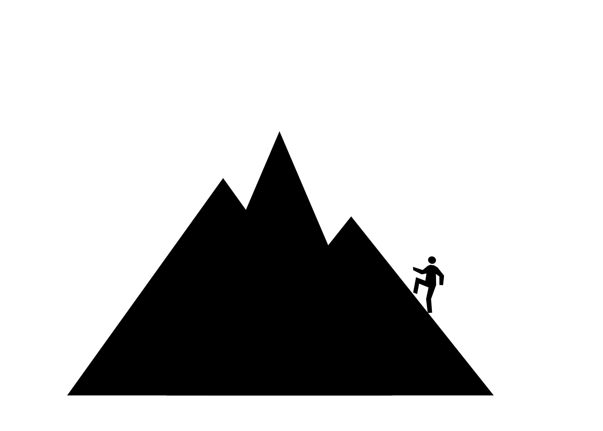 2100x1500 Best Hd Mountain Climbing Silhouette Clipart Free Photos