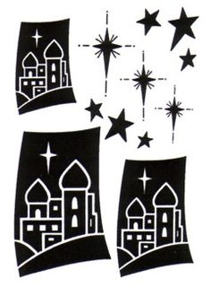 236x320 Bethlehem Silhouette Holiday Related Art Projects