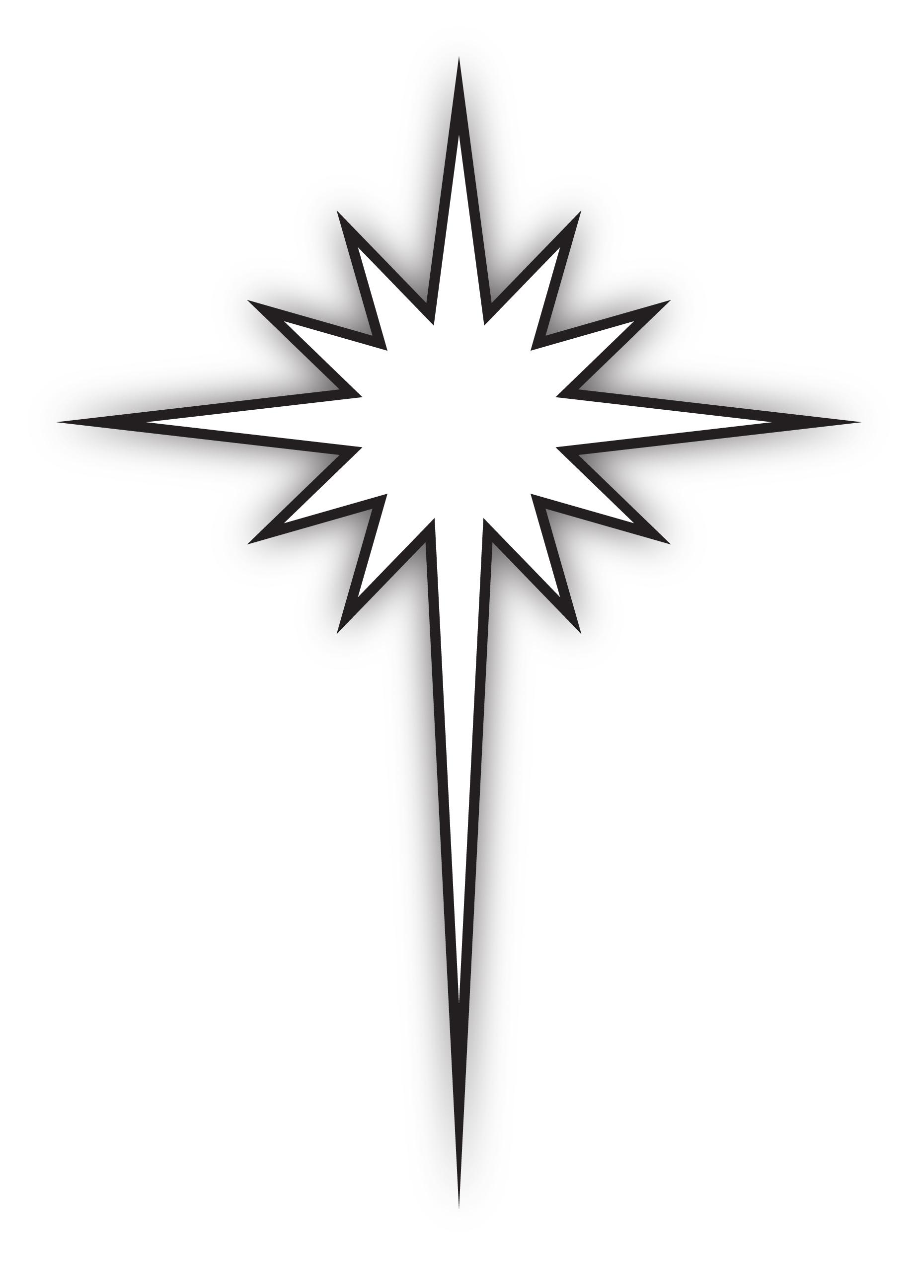 bethlehem star silhouette at getdrawings com free for personal use rh getdrawings com  star of bethlehem clip art free