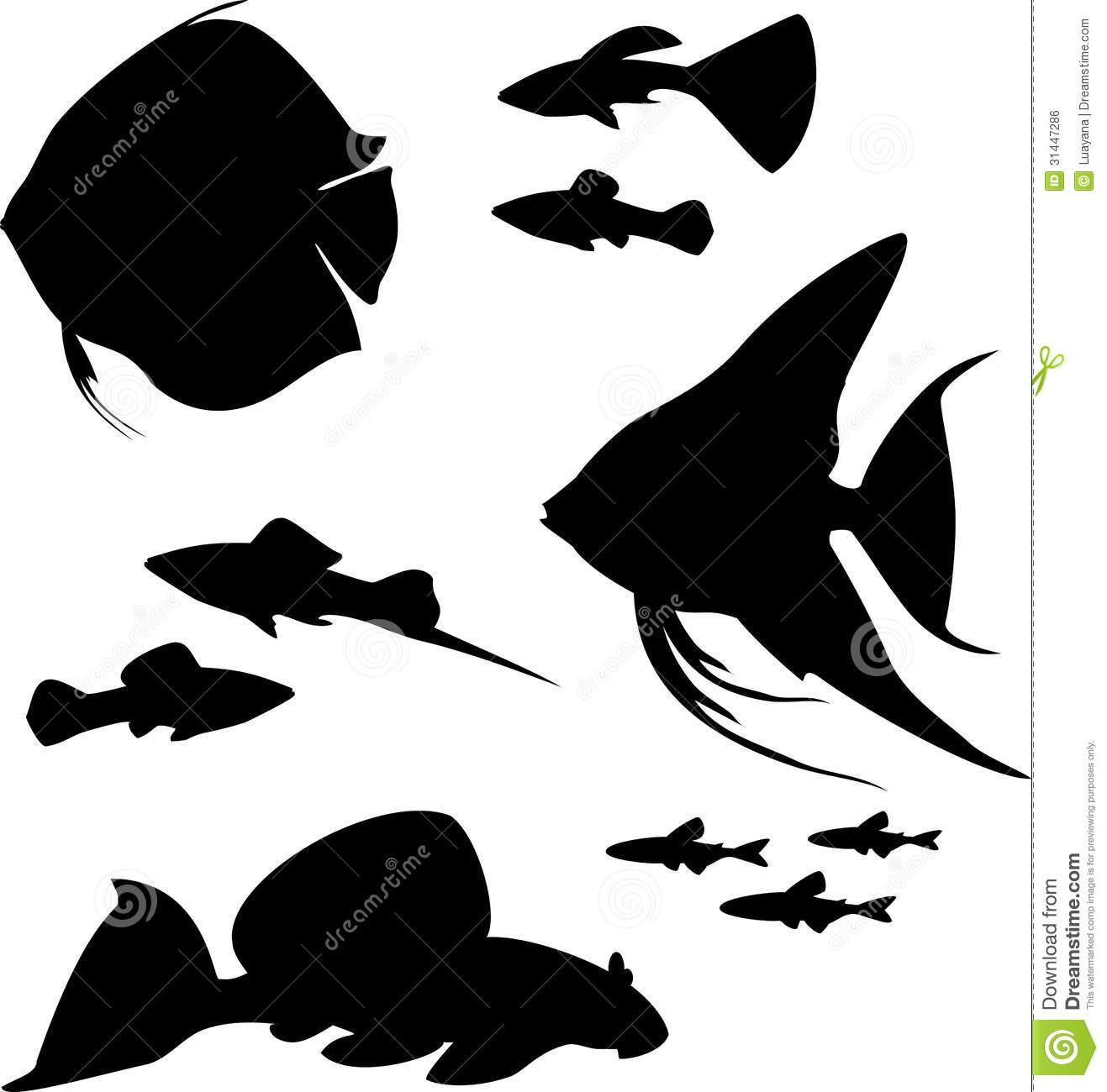 1317x1300 Tropical Fish Silhouette Clipart Panda