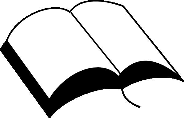 600x386 Open Bible Clip Art