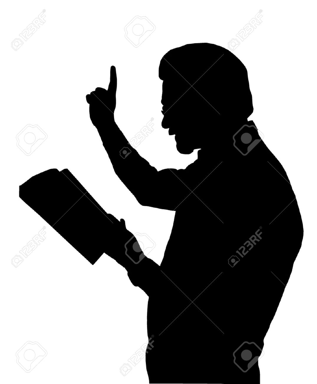 1075x1300 Bible People Silhouette Clipart