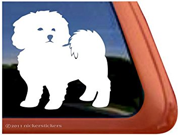 355x268 Bichon Frise Outline