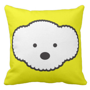 307x307 Bichon Frise Pillows