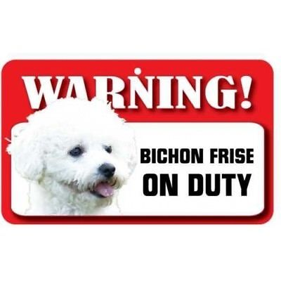 400x400 Bichon Frise Dog Pet Sign, Fun Signs, Housewarming Gifts, Home