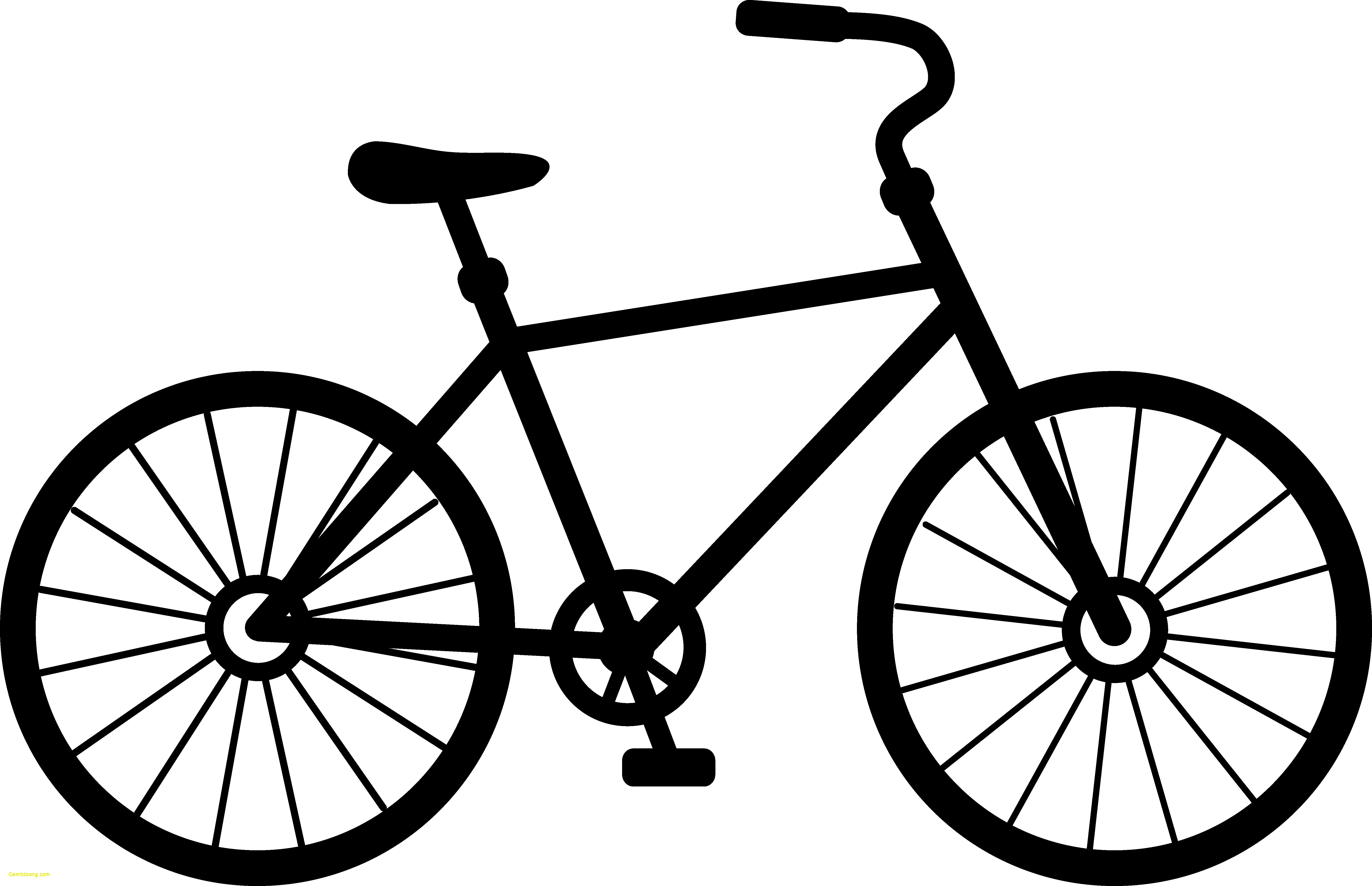 bicycle clip art silhouette at getdrawings com free for personal rh getdrawings com biker clip art free downloads bike clipart older woman
