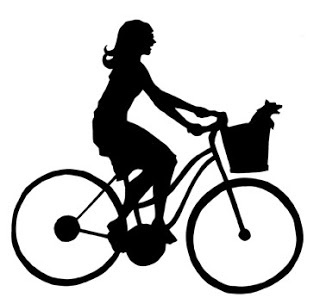 Bicycle Rider Silhouette
