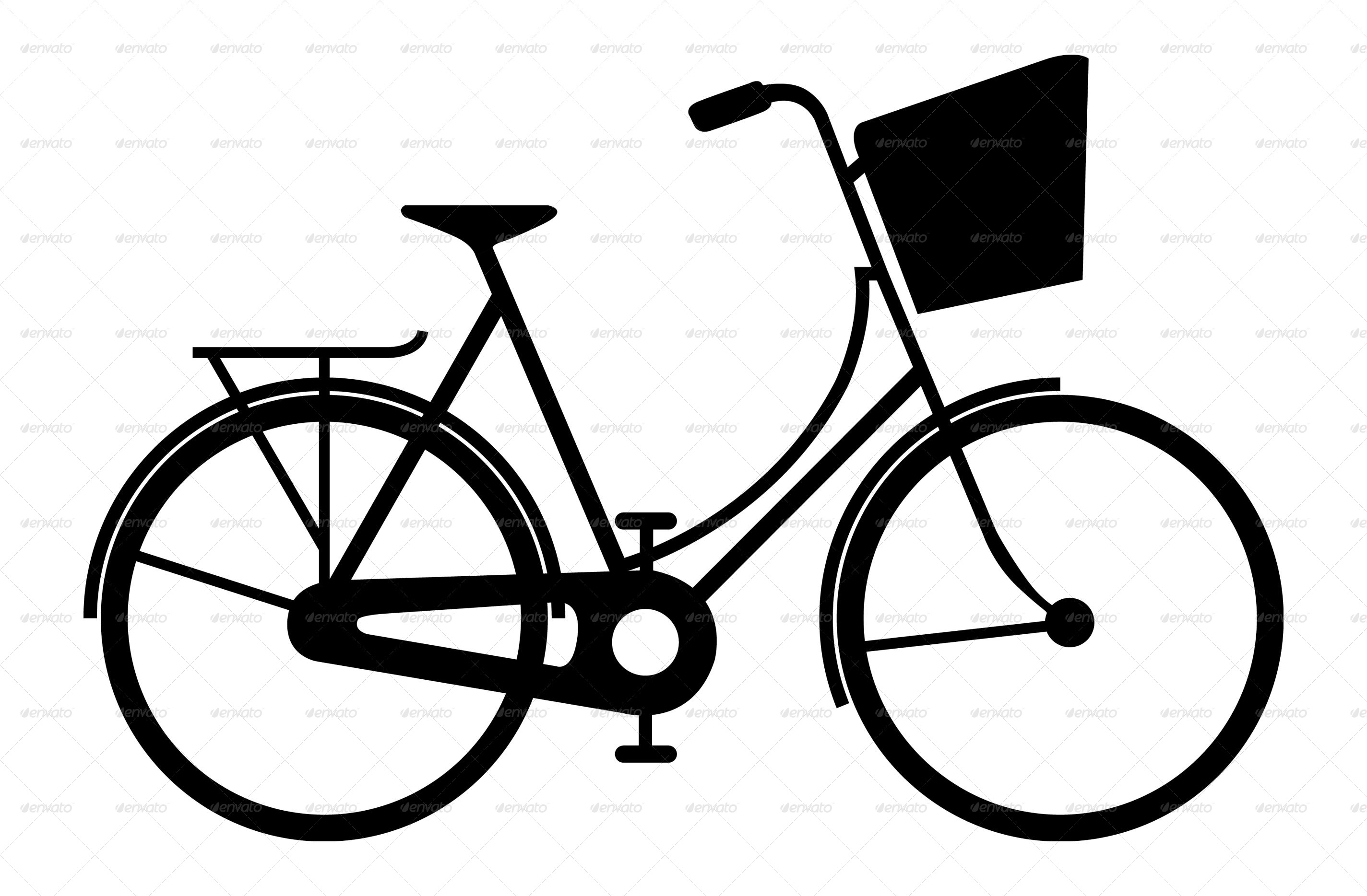2849x1869 Bicycle Silhouettes By Mdshahidullah609 Graphicriver