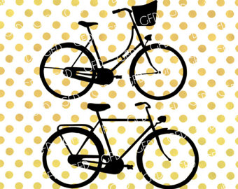 340x270 Bicycle Silhouette Etsy