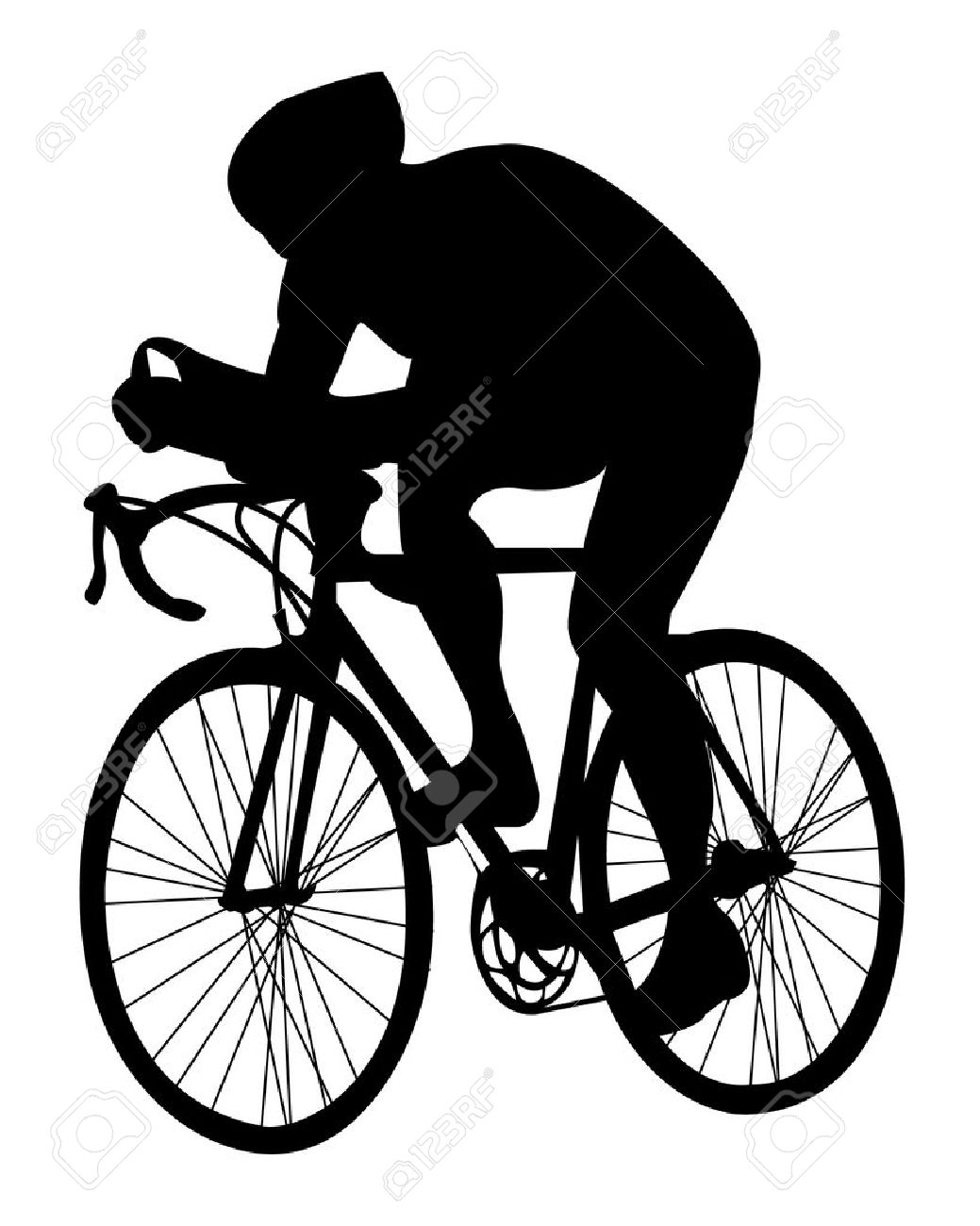 1039x1300 Biker Clipart Road Bike