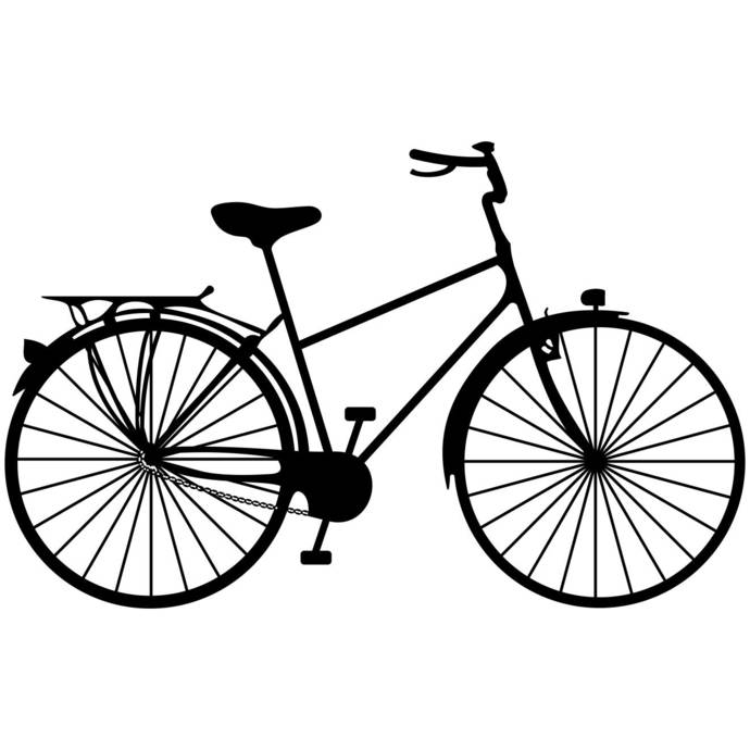 690x690 Bicycle Ride A Bike Graphics Svg Dxf Eps Png By Vectordesign On Zibbet