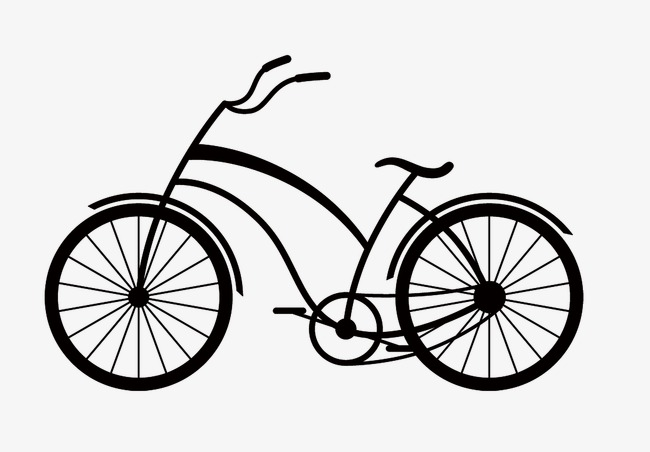 650x452 Bicycle Silhouette, Bicycle, Transportation, Work Out Png Image