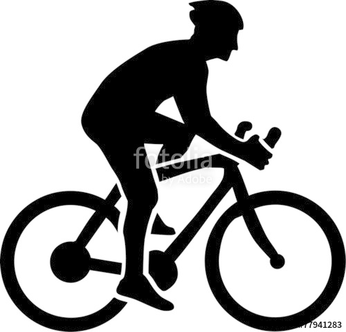 500x480 Cycling Silhouette Stock Image And Royalty Free Vector Files
