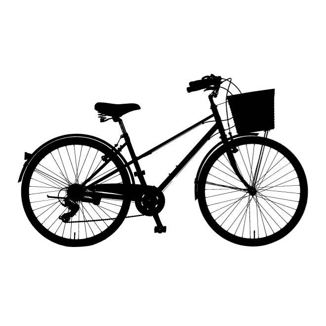 660x660 Bicycle Silhouette