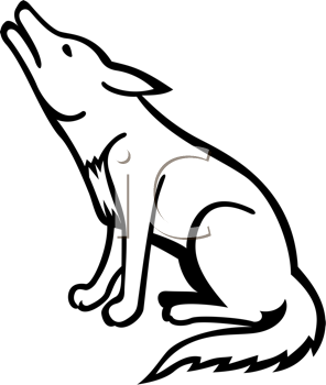 296x350 Amazing Idea Coyote Clipart Minecraft Coloring Pages Big Bad Wolf