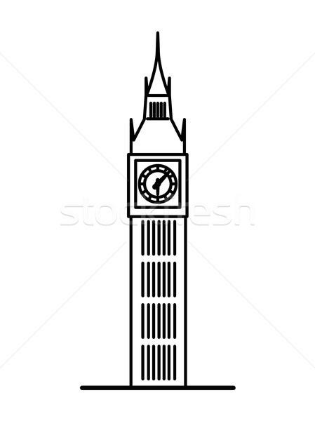 Big Ben Silhouette Clip Art at GetDrawings.com | Free for ... | 449 x 600 jpeg 20kB