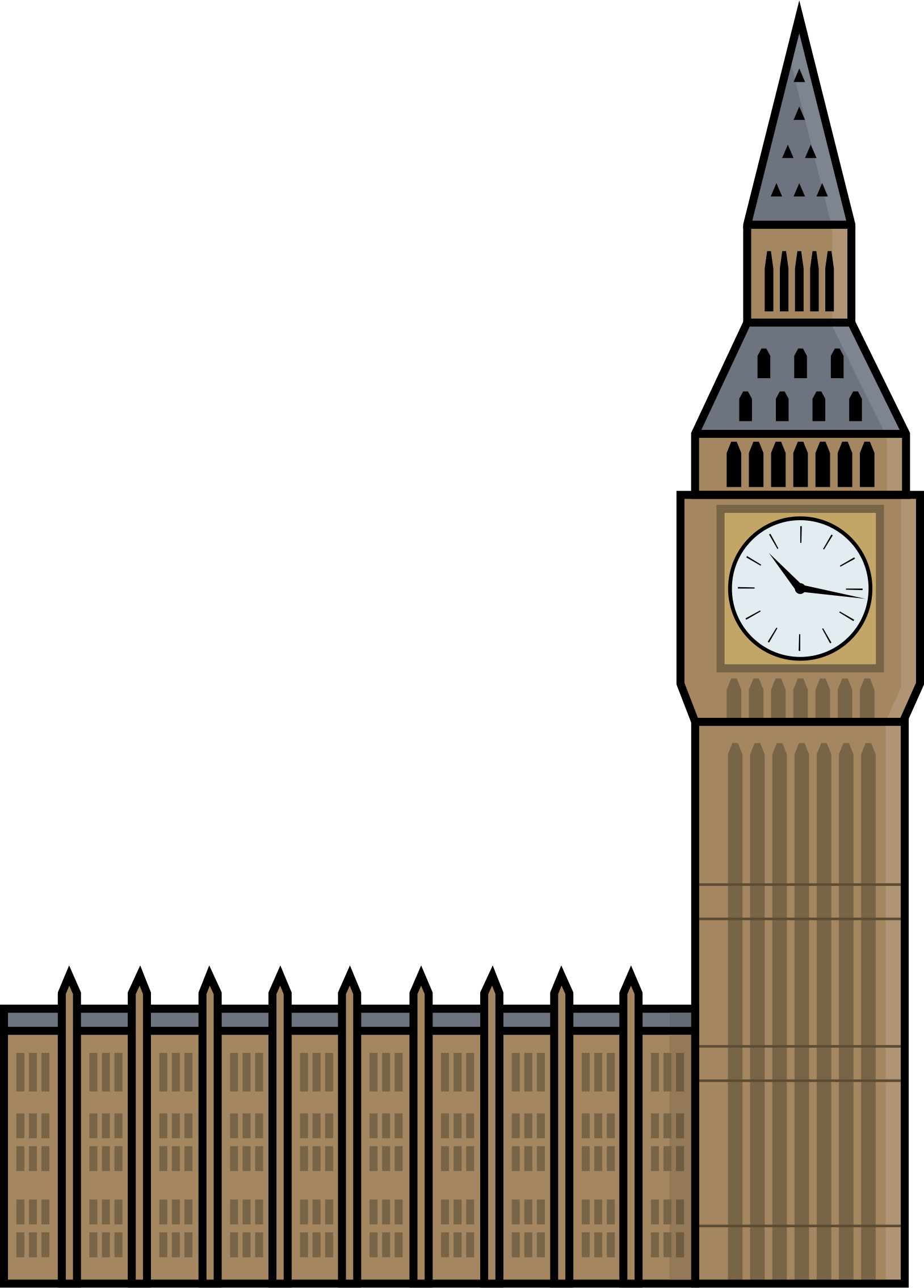 1628x2268 Big Ben Icons Png