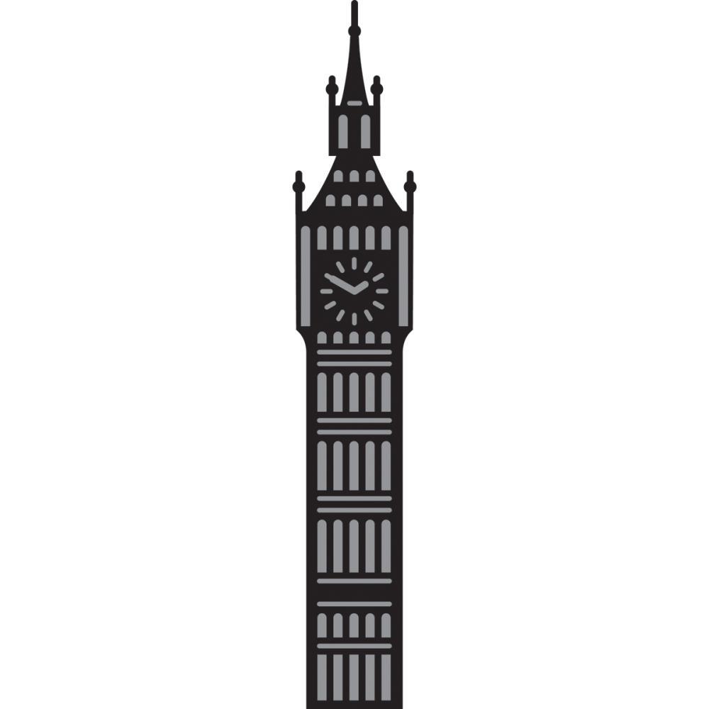 1000x1000 Big Ben Silhouette Clipart