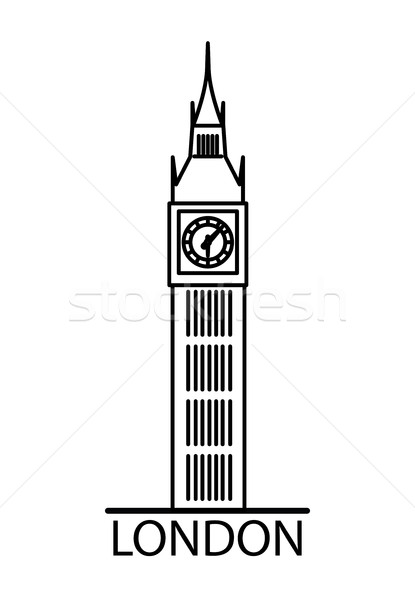 big ben silhouette clip art at getdrawings com free for personal rh getdrawings com big ben clock clipart big ben clipart black and white