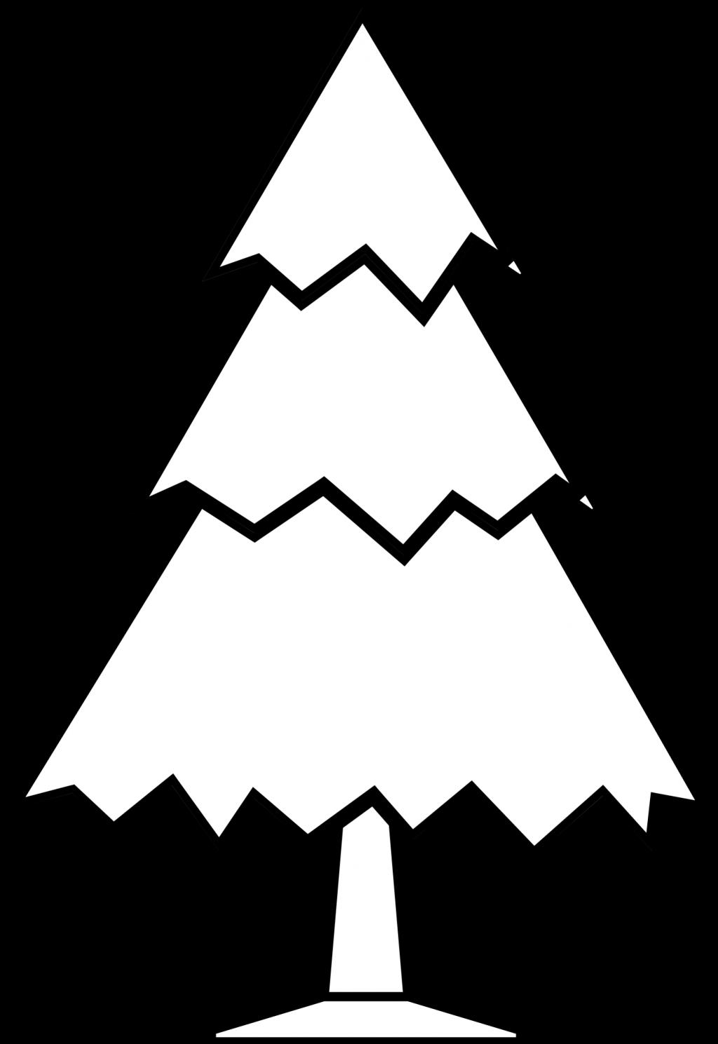 1024x1489 Baby Nursery ~ Breathtaking Clip Art Black And White Xmas Trees