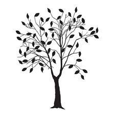 225x225 Tree Drawing